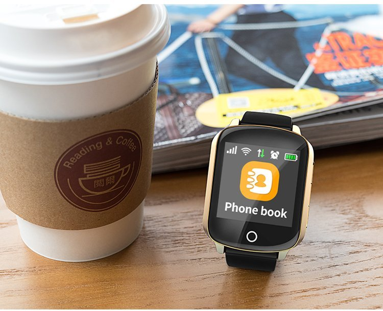 2g smart watch with cup