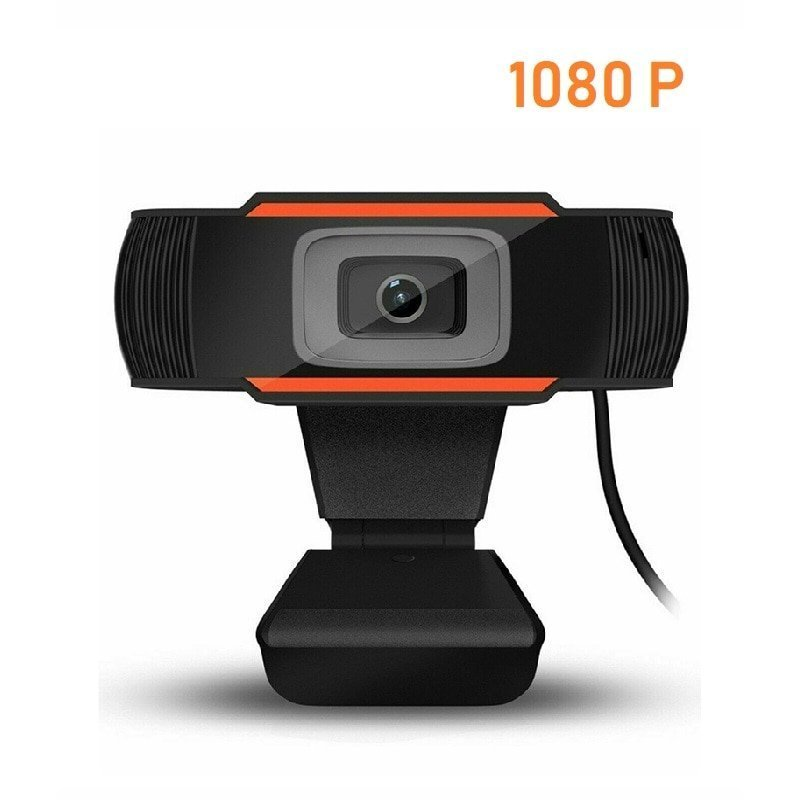HD 1080P Webcam With Microphone